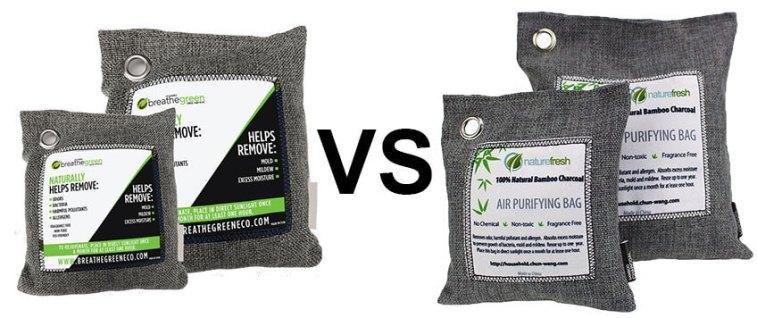 Breathe Green Charcoal Bag
