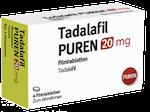 Potenzmittel bei Erektionsstörungen Tadalafil PUREN 20 mg