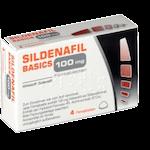 Potenzmittel bei Erektionsstörungen Sildenafil Basics 100 mg