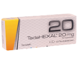 Potenzmittel bei Erektionsstörungen TadaHEXAL 20mg