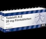 Tadalafil AbZ 20 mg Potenzmittel bei Erektionsstörungen