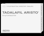 Potenzmittel bei Erektionsstörungen Tadalafil Aristo 20 mg