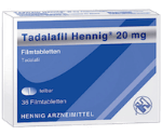 Potenzmittel bei Erektionsstörungen Tadalafil Stada