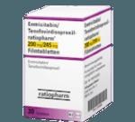 Emtricitabine-Tenofovirdisproxil Truvada Generika ratiopharm 200 mg 245 mg