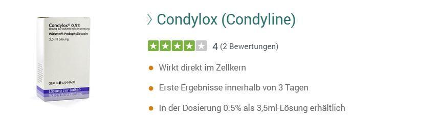 Condylox-preisvergleich