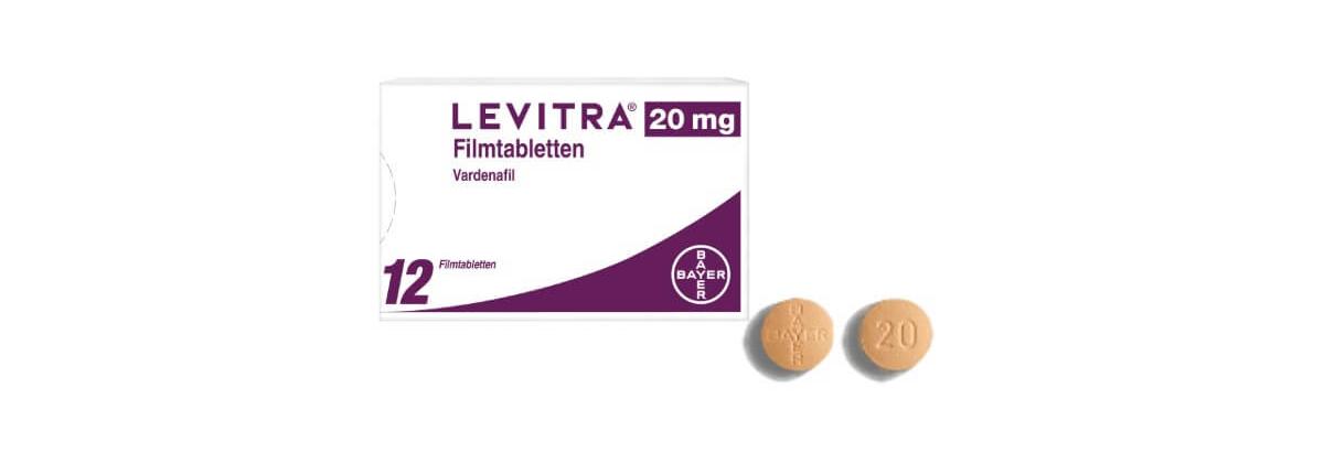 Levitra 20 mg Filmtabletten