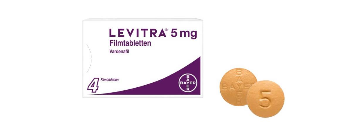 Levitra 5 mg Filmtabletten Potenzmittel