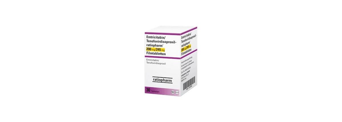 Emtricitabin Tenofovirdisoproxil-ratiopharm Filmtabletten Truvada Generika