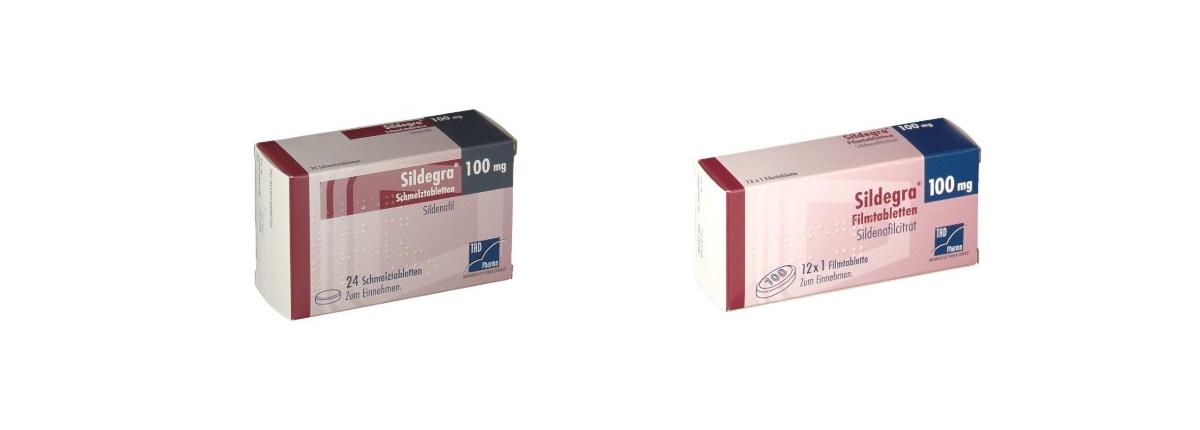 Sildegra 100 mg Potenzmittel TAD Pharma
