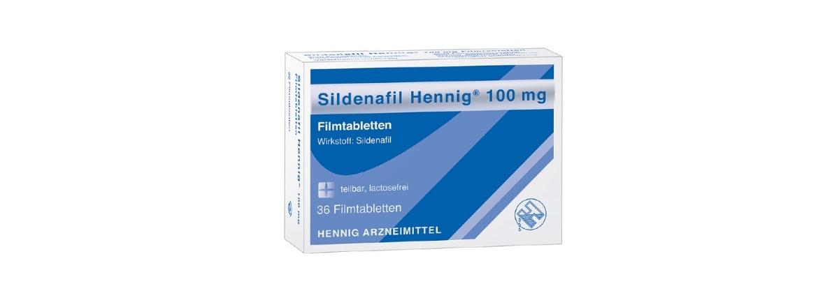 Sildenafil Hennig Potenzmittel Viagra Generika