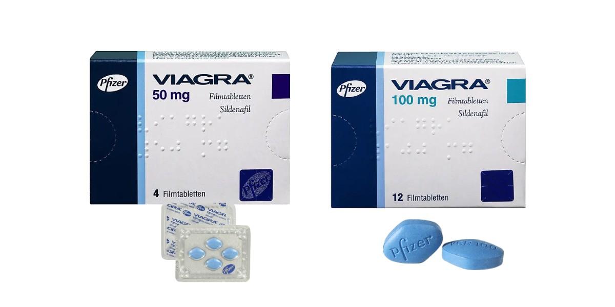 Viagra Potenzmittel Filmtabletten